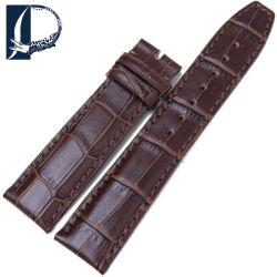 Pesno 20мм 22мм бамбук зерна смотреть полоса подлинной ремешок из натуральной кожи для МКК мужчин преднатяжитель плечевой лямки ремня безопасности из нержавеющей стали браслет коричневый