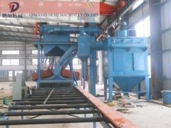Granallado máquina para la estructura de acero y la placa de acero óxido