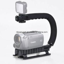 Estabilizador de câmara 3 Triplo equipamento para montar a câmara Pega uma acção de vídeo Estabilizando a pega para câmara DSLR Nikon Canon Sony iPhone 7 Plus a ESG10211