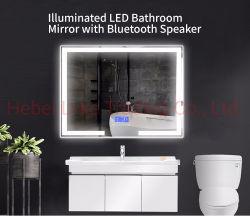 Зеркало с подсветкой Smart LED Светодиод Bluetooth зеркало заднего вида медицины кабинет ванная комната наружного зеркала заднего вида