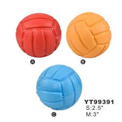 Neu kommen sortiertes Kugel-Form-Hundespielzeug der Farben-S/M an (YT99391)