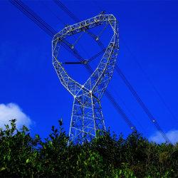 torretta d'acciaio galvanizzata della grata del ferro di angolo della trasmissione di energia elettrica 10kv-1100kv