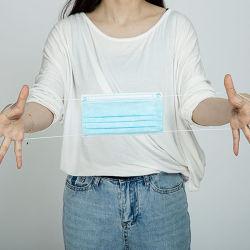 صنع في الصين 3 قطع وجه مدني غير منسوجة بالمهبل قناع الوجه الواقي أزياء غير طبية قناع ملتبلج/أزرق و قناع أبيض/قناع قياس/قناع تنفس