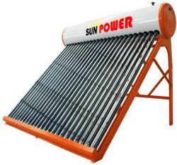 Ménage Calentador chauffe-eau solaire électrique basse pression