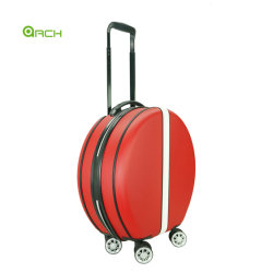 新しいファッション・デザイナー卸売 ABS の空のトロリー旅行贅沢な円形 女性のための美しい化粧品の荷物袋のハード・ケース
