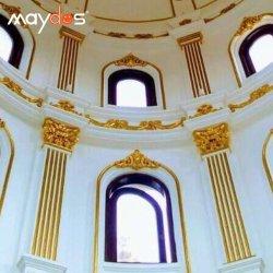 Buona vernice acrilica esterna resistente all'uso della parete dell'oro di alta qualità