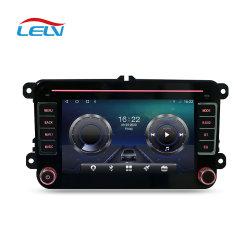 Réseau 4G Android 7 pouces10 32 Go 8core Voiture Lecteur de DVD vidéo navigation GPS avec Carplay DSP sans fil auto pour VW