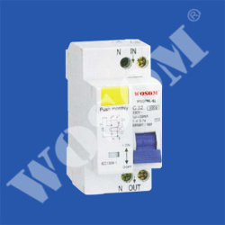 WSDPNL-63 disyuntor de corriente residual con la protección de sobrecorriente