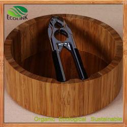 Nutcracker Walnut Clip와 Bamboo Round Storage (EB-B4218)