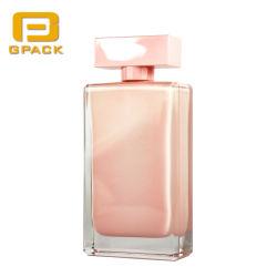 100ml Botella de Perfume de vacío interior con revestimiento interno de la pintura de color de rosa fresca Viaje deporte Factice fundido Rollerball Botella de cosméticos de la fábrica de embalaje