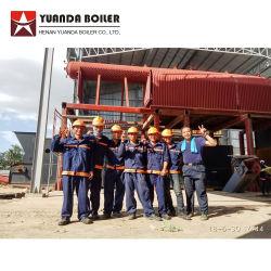 Chaudière à vapeur de charbon de la biomasse avec turbine à vapeur utilisées dans Factroy