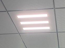 Диффузные Refelection 60X60, 36Вт Светодиодные лампы панели управления для установки на потолок с маркировкой CE, CB