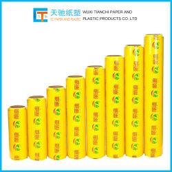 المصنع قابل للتحلل البيولوجي السعر الاقتصادي أفضل الأغذية الطازجة حماية PE التغليف فيلم البلاستيك المنتجات البلاستيكية ملصق لاصق PVC