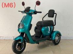 De nieuwe Model Elektrische Bromfiets Met drie wielen van Drie Fiets van de Autoped van de Mobiliteit