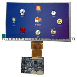ホームビデオのドアベルに使用するコントローラボードとの7inch TFT LCD