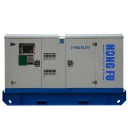 16kw/20kVA leiser DieselPerkins Generator mit rostfreiem Kabinendach