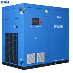 37kW 50HP 380V 편지지 2단계 변속 Flexibility Direct 구동 공기 냉각 AC 전원 11.2m3/min 산업용 로터리 유형 나사 에어 컴프레서 판매