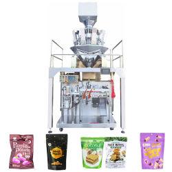 Os grãos/Ponteado/alimentos inchado/essência/Bolas de carne de frango Pesador Multi-Heads Enchimento automático de máquinas de embalagem de estanqueidade