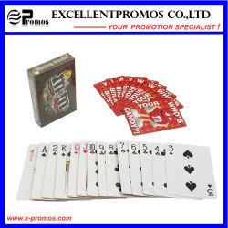 Carton d'impression personnalisé Poker jouant aux cartes papier
