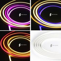 중국 공급자 유연한 LED 지구 24V는 색깔 훈장 LED 지구 빛을 방수 처리한다