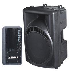 Luidsprekerkast met volledig bereik en actieve en aangedreven luidsprekers (PAM-10/12/15A)