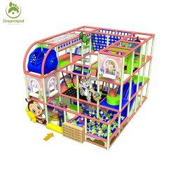 Die 60 Sqm 3-Level Kind-Kindertagesstätte-Spiel-Bereichs-Innenspielplatz-Türkei-Süßigkeit-Land-Geräten-Set