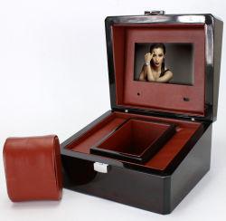 Artesanía artificial de 3 pulgadas LCD, caja de vídeo de felicitación