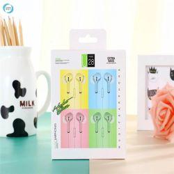 Hotselling Macaron écouteurs filaires 3,5 mm pour casque et pour les téléphones universel MP3 iPod