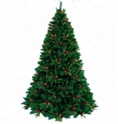 شعبية 7.5 Green Slim مصطنع LED شجرة عيد الميلاد
