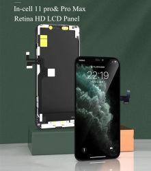 プロiPhone 11のための高品質のIncell HDの表示タッチ画面LCD