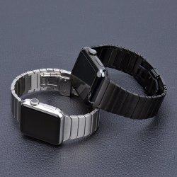 Accessorio del braccialetto del blocco per grafici dell'acciaio inossidabile 2020 del metallo dell'incastronatura della cinghia del cinturino del Apple