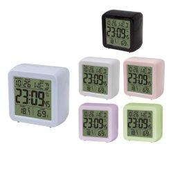 Orologio con allarme LCD da viaggio all'ingrosso con termometro