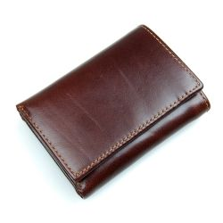 New Arrival Coffee 남성용 Cow Leather RFID Wallet