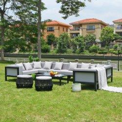 Groothandel moderne stijl Aluminium Frame Outdoor Sofa Set meubilair voor Home Hotel Garden Patio