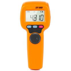 Tester fotoelettrico 60~49999rpm del tachimetro del tester di giro del tachimetro istantaneo senza contatto dello stroboscopio dell'affissione a cristalli liquidi di Digitahi