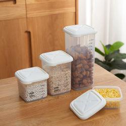 المطبخ منزل صندوق تخزين الطعام البلاستيك العميق وعاء تخزين الطعام