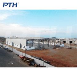 هيكل صلب واسع النطاق طويل المدى مبنى مستودع سابق التجهيز منخفض التكلفة مقياس ضوء السعر هيكل الإطار الفولاذي