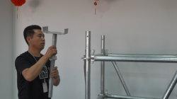 Heiße verkaufende einfacher Griff-diagonale Klammer für Ringlock Baugerüst