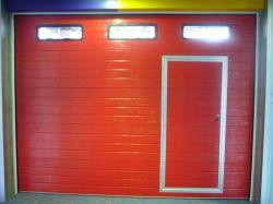 CE изолированный вид в поперечном разрезе стальных дверей гаража (40мм)