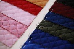 Bl2279 tejidos fabricados en piel Karyotyp Velveteen acolchado, Pase de resistencia al desgaste satinado para prendas de vestir, zapatos, bolsos, sombreros, Joyero, el sofá. Presidente
