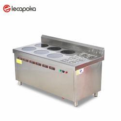 Made in China maßgeschneiderte Hotel Restaurant Professional Commercial Kitchen Elektrische Kochausrüstung