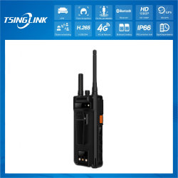 Android 4.7 inch touchscreen H. 265 Face Recognition License Plate Recognition Intelligent 1080P Handheld Walkie Talkie Talkback 4G videocamera systeem