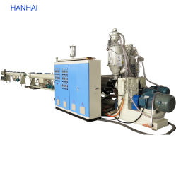 HDPE PP Drenaje de alcantarillado Pex Máquina de extrusión de tubería de calefacción