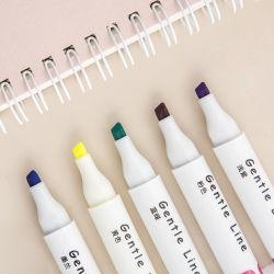 12ПК два наконечника Eye-Protecting флуоресцентные цвета маркера маркером