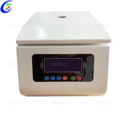 Micro Table-Top clínica Hematología laboratorio de alta velocidad de la sangre de la máquina centrífuga