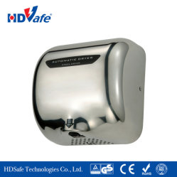 Loiça sanitária 1800W aço inoxidável Secador de mão automático de alta velocidade para o Hotel toalete sanita