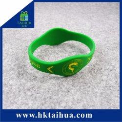 Oferta promocional especial bracelete de Silicone, formato de relógio de pulso, a tira de borracha, assista com logotipo Debossed