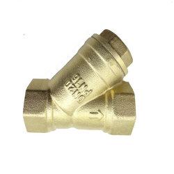 Latón de 1/2 pulgada y tipo de filtro tamiz forjado con Ss Net para Agua