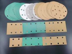 Carta abrasiva per utensili gialla/verde/bianca