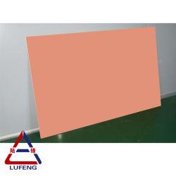 1.5Mm-6mm Couleur PVDF prépeint feuilles en aluminium/panneaux pour mur-rideau
